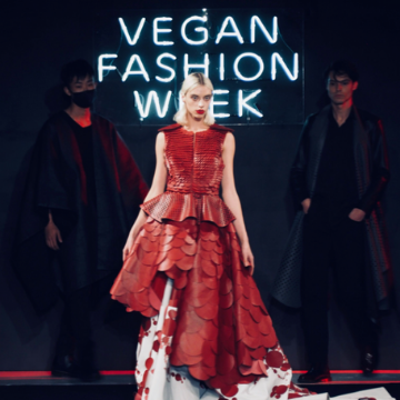FunnyVegan news vegan fashion week